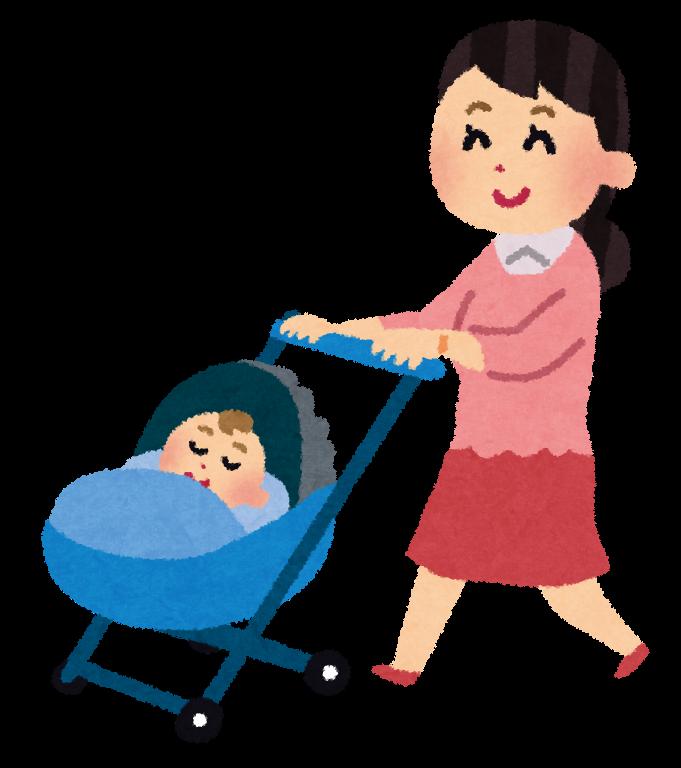 赤ちゃんとお散歩はどこに行く?持ち物や時間帯は?