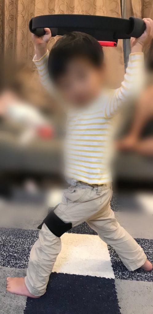 リングフィットアドベンチャー 幼児